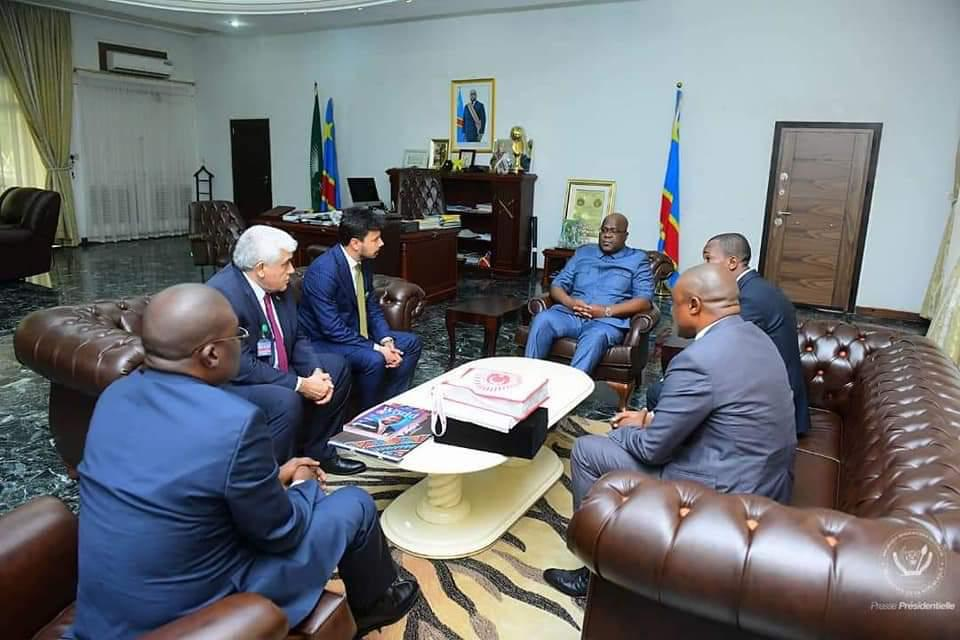 Official Visit of WTFI Delegation to the Democratic Republic of Congo